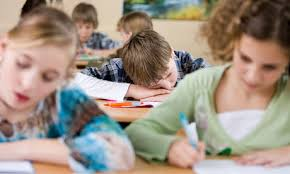 Schoolchildren with narcolepsy