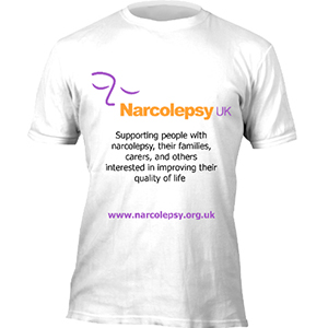 T shirt design - Narcolepsy UK