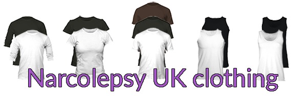 Narcolepsy UK clothing